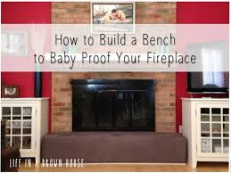 Fireplace Safety Gate  FoterBaby Proof Fireplace