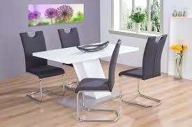 Esstisch Weiß Betonoptik 140x80 Esszimmer Wohnzimmertisch Modern Design Günstig