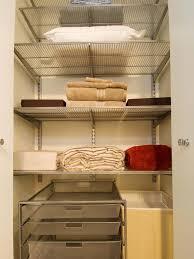 Linen Closet Design Plans Organizing Your Linen Closet Hgtv
