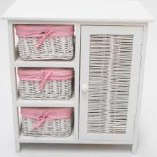 white storage unit wicker: shabby  furniture shabby chic white table with built in storage shelf and  white wicker storage baskets along with white cabinet wicker storage basket wicker storage baskets with lids wicker storage trunk w x