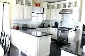 off white cabinets dark floors. Exellent Floors White Kitchens With Dark Floors Off Kitchen Cabinets  Black Floor Tiles   And Off White Cabinets Dark Floors W