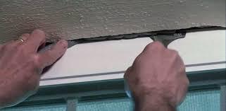 using foam backer rod to fill a wide before caulking