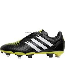 men s sl71ad12362 rugby boots adidas predator incurza sg rugby boots core black white bright yellow