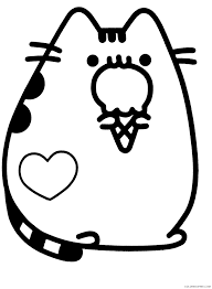 Feel free to share it on twitter/instagram ~ #piccandle or @piccandle. Pusheen Coloring Pages Cartoons Cute Pusheen Printable 2020 5180 Coloring4free Coloring4free Com