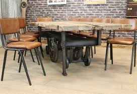 industrial kitchen furniture. Excellent Ideas Industrial Kitchen Chairs VINTAGE STYLE LEATHER CHAIR CHELMSFORD DINING Furniture