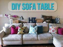 diy sofa table. DIY Sofa Table Styling Diy
