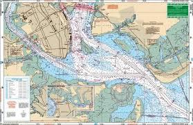 Charleston Nautical Chart Charleston Harbor Large Print Nautical Chart Image