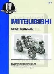 mitsubishi tractor parts