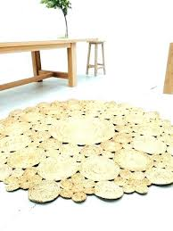 Round Jute Rug Area Rugs 8 Ft Flooring Awesome Braided Ikea Review