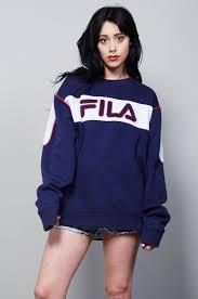 fila hoodie women s. vintage classic fila sweater hoodie women s h