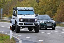 Pricing for the base g550 starts around $123,000, but the g550 4x4 squared has a starting price of $225,925. 2022 Mercedes Benz G 550 4x4 Squared Spied Looking Like An Expensive Toy Autoevolution