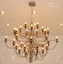 gino sarfatti chandelier by gino sarfatti style chandelier