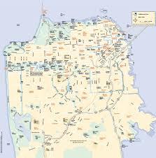 san francisco neighborhood map  san francisco ca • mappery