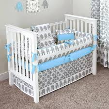 grey baby bedding sets elephant for and white crib set