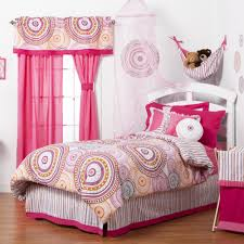 Pink Curtains For Girls Bedroom Bedding White And Beige Bedroom Coloring Scheme Completed With