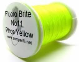 Details About Fly Tying Semperfli Fluoro Brite Fluorescent Floss Vivd Colour Range M12