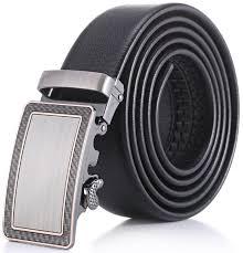 marino mens leather belt soft leather ratchet dress belt with automatic buckle enclosed in an elegant gift box polka dot ratchet belt black fits