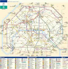 Plan Bateau Bus Paris Ratp