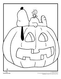 Small Picture Its the Great Pumpkin Charlie Brown Coloring Pages Snoopy