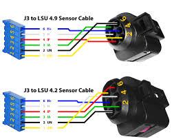 lsu 4 2 uego sensor o2 sensor aem infinity 6 pinout pins pin 6 c1 7