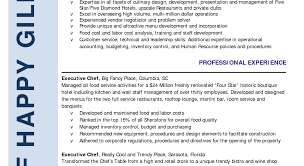 Impressive Chef Ramsay Resume Tags Chef Resumes Resume Writing