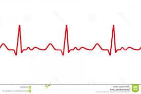 Medical Ecg Ekg Pulse Electrocardiogram Vector Red Line