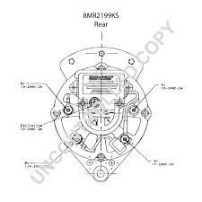 mrks alternator product details leece neville 8mr2199ks rear dim drawing