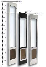 exterior door with built in pet door. patio pet doors exterior door with built in
