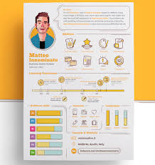 Creative Resume Mesmerizing Matteo Innominato Creative Resume Template Prints Inspiration