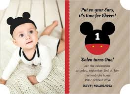 Make Your Own Mickey Mouse Invitations Mickey Mouse Birthday Party Ideas Wording Activities Toddlers Kids