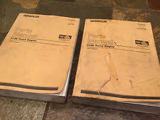 3126 cat engines 1997 1998 1999 caterpillar cat 3126 diesel engine parts catalog book manual