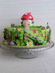 9 square n enchanted fairy cakes photo garden cake