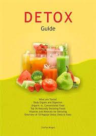 Detox Foldable Chart