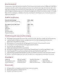 Sample Resume For Forklift Operator Forklift Description Forklift