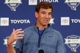 Eli Manning downplays Giants QB battle with Daniel Jones