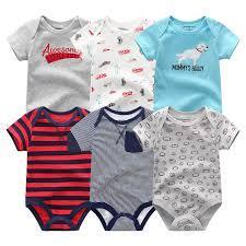 Online Shop Super Cotton <b>Baby</b> Bodysuit Fashion <b>6pcs</b>/<b>lot Newborn</b> ...