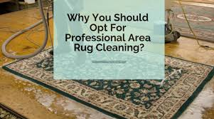 why you should opt for professional area rug cleaning