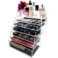 Acrylic Makeup Organizer With Drawers India Large For Sale 5 Tier Clear  Wholesale