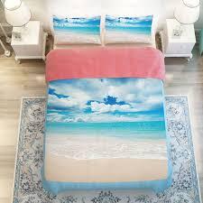 bright ocean view bedding set