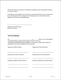Durable Power Of Attorney Form Magnificent POWER OF ATTORNEY Legal Forms Software Standard Legal