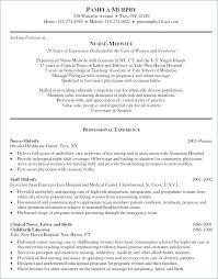 Example Of Nursing Resume Awesome Example Resume Objectives