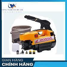 máy rửa xe gia đình áp lực cao Honda 1800W-Máy rửa xe mini lỗi đồng-Máy rửa  xe oto Honda - Tặng bì xà phòng