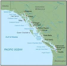 Southeast Alaska Chart Inside Passage Wikipedia