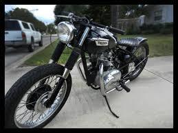 1970 triumph t100c 500cc an artful bobber for sale in sarasota