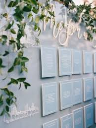 Escort Cards Seating Charts