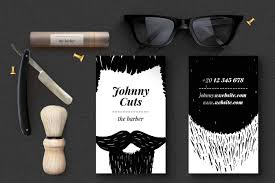barbershop business cards the barber business cards templates on behance