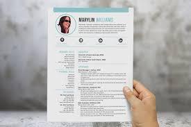 <b>Creative 2 in 1</b> Word resume by Inkpower on @creativemarket ...