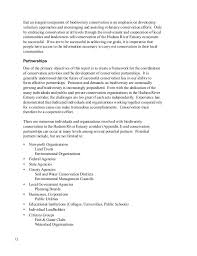 wildlife and habitat conservation framework