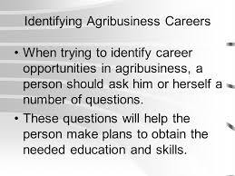 Exploring Agribusiness Career Opportunities Ppt Video