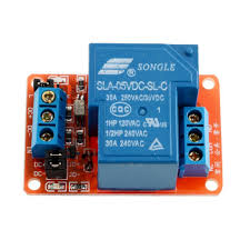 1 channel power relay control board module 30a single switch 5 v